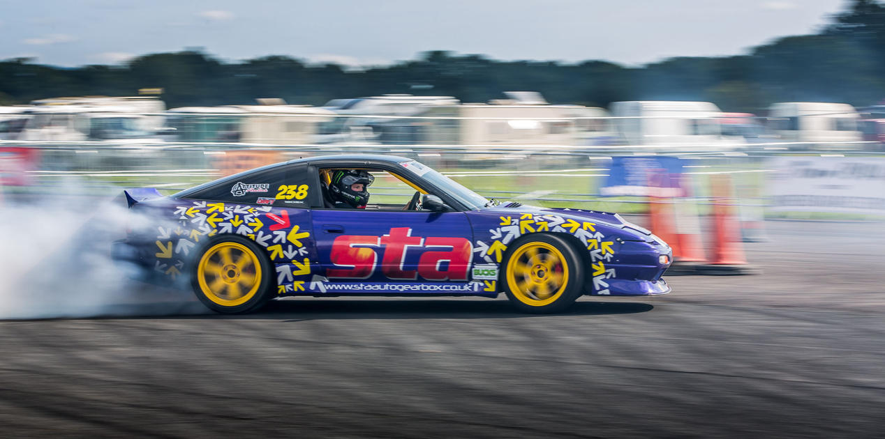 Drifting At Wings and Wheels 2015 by Captain-Marmote