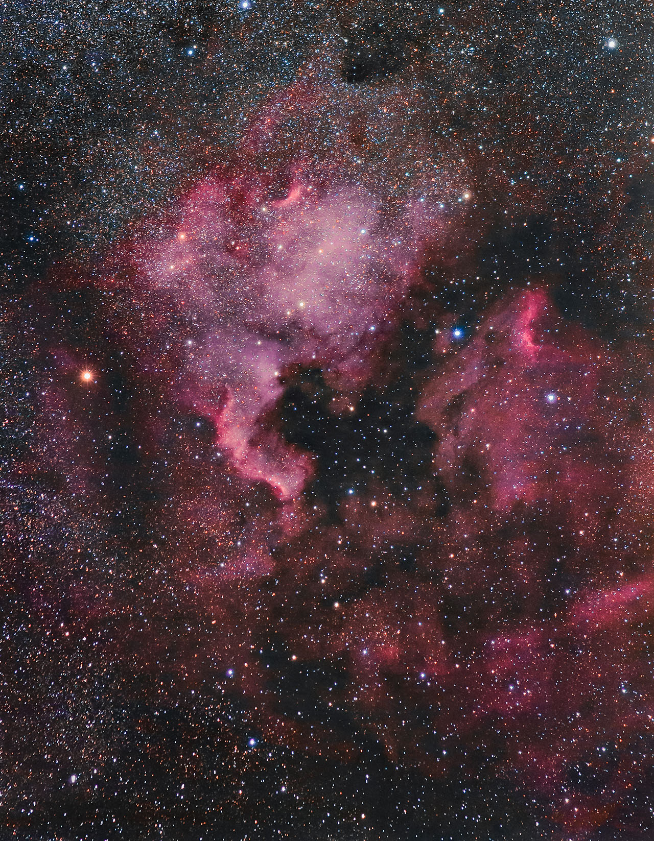 The North America Nebula by Captain-Marmote