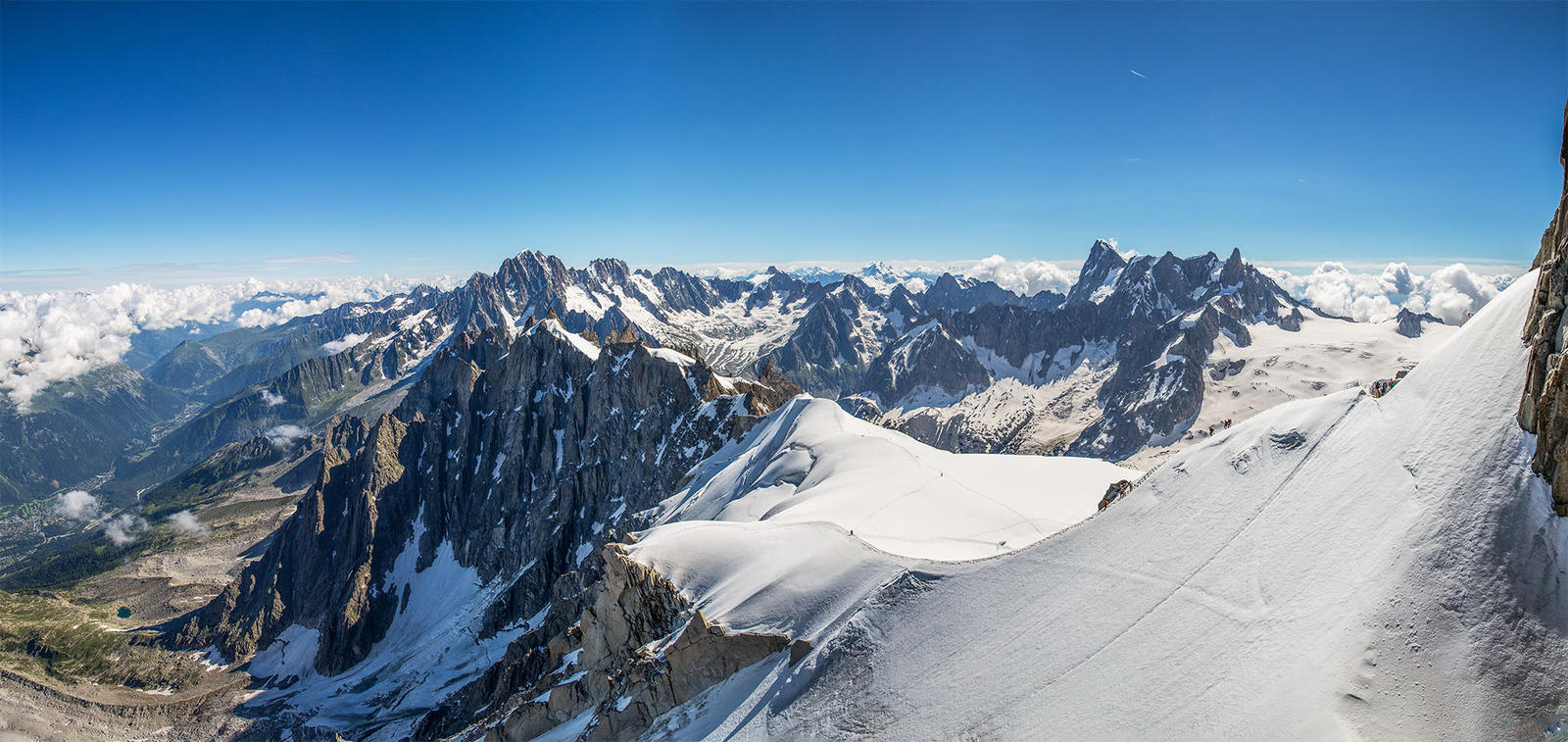 massif du mont blanc looking east by captain marmote on deviantart