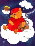 Radio Pooh Colored by BrigetteMora