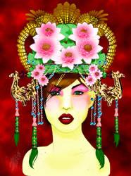 Mio Portrait Colored by BrigetteMora