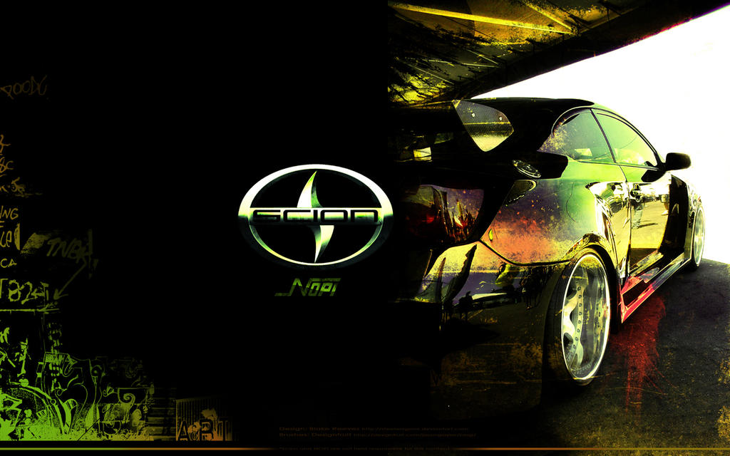 Scion Emblem Wallpaper Nopi Scion Wallpaper by