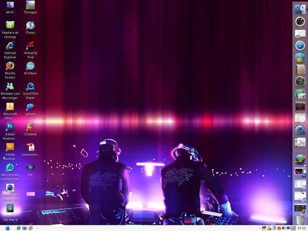 Daft Punk Descktop by redswiss