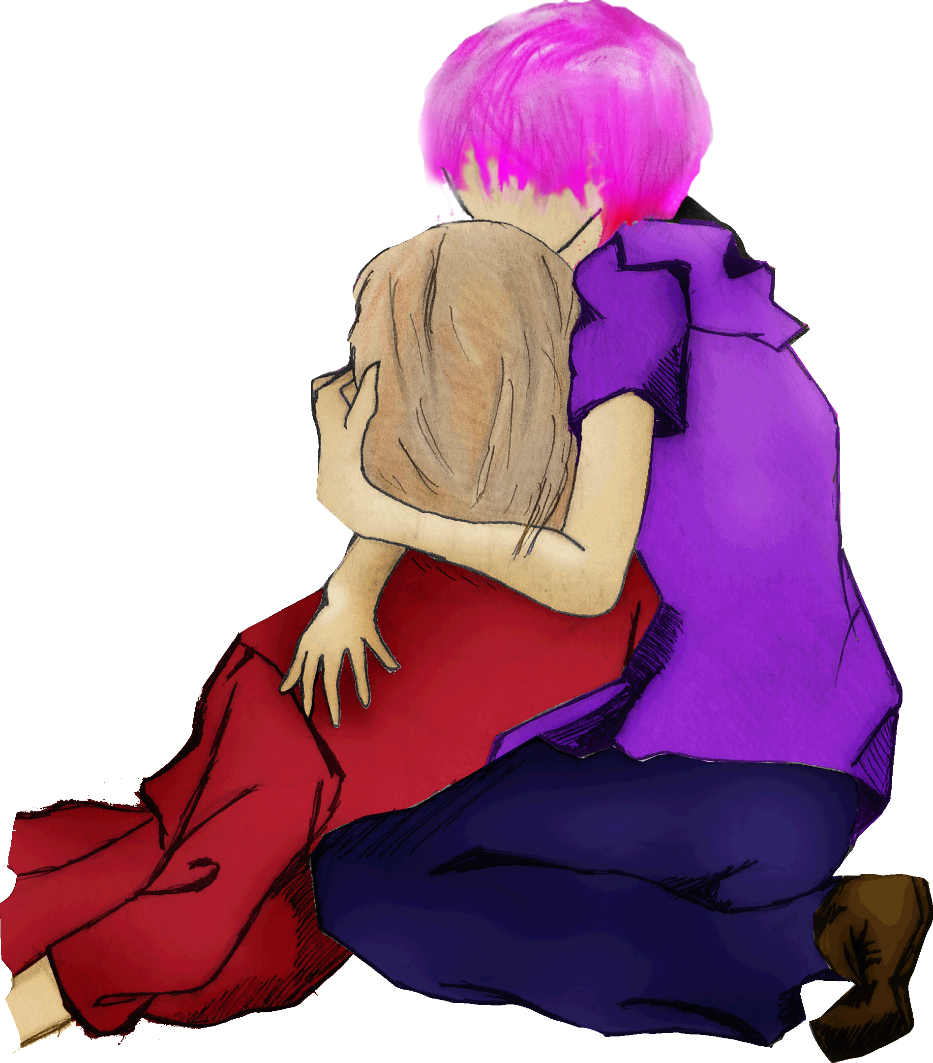 Tonks Holding Lupin