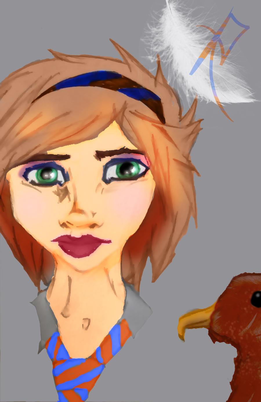 Self-Ravenclaw Portrait