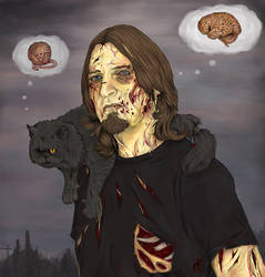 Zombie Yura by GhostOfMidwinter