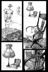 Giocondo_celibe(working_progress_)pencil by adolfoarenas