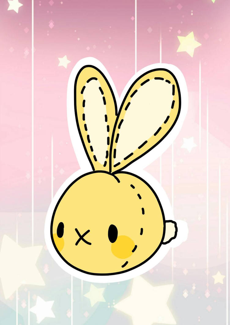 Bunny Bean by strawberrymilko