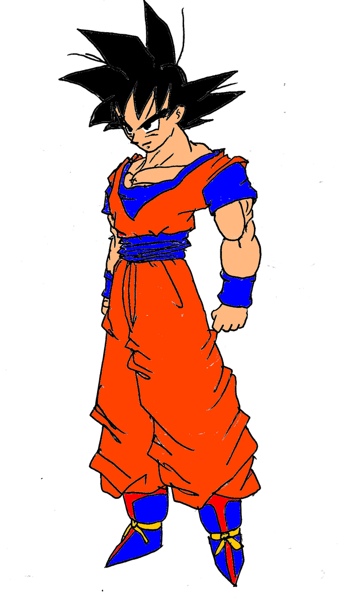 Goku Normal by DragonballDrawer on deviantART