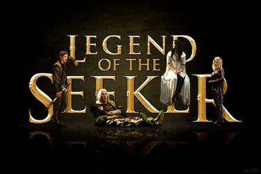 Legend of the Seeker logo poster by agota86
