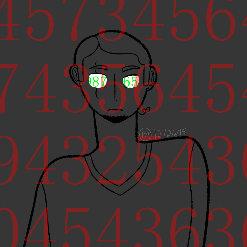i only think in the form of crunching numbers by SylphEmblem on ...