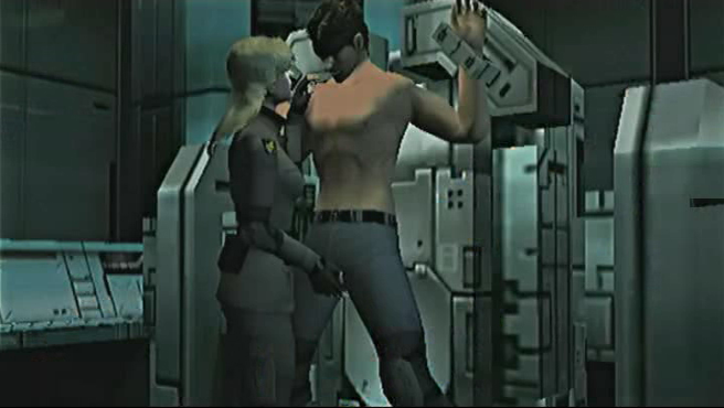 Solid Snake Y Sniper Wolf By Solid Snake Mgs On Deviantart