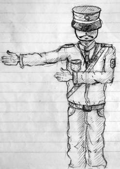 A T-Policeman