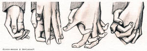 Process of Holding Your Hand