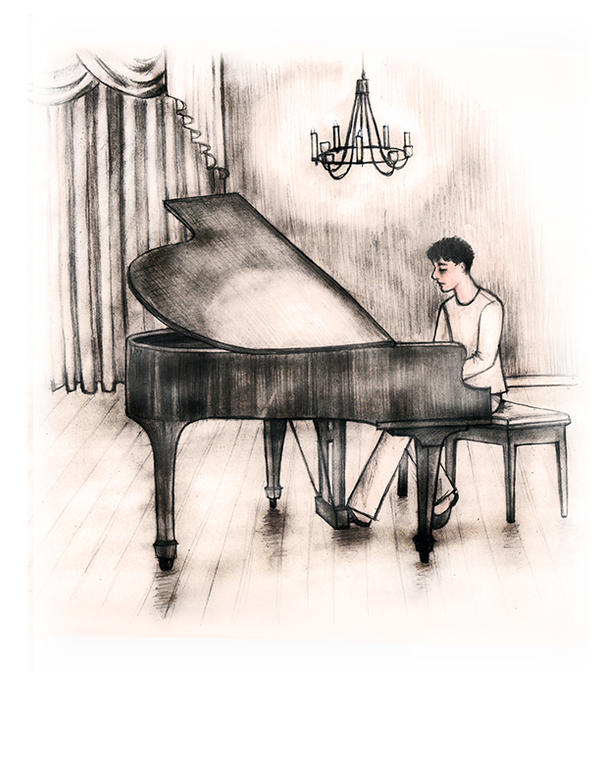 swamp_mouse | Original Art - Grand Piano and To Awake Content