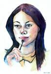 Alex Vause Watercolor