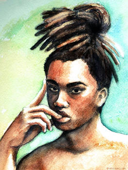 Cykeem Watercolor