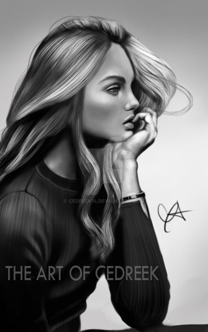 BW Girl by cedreek14