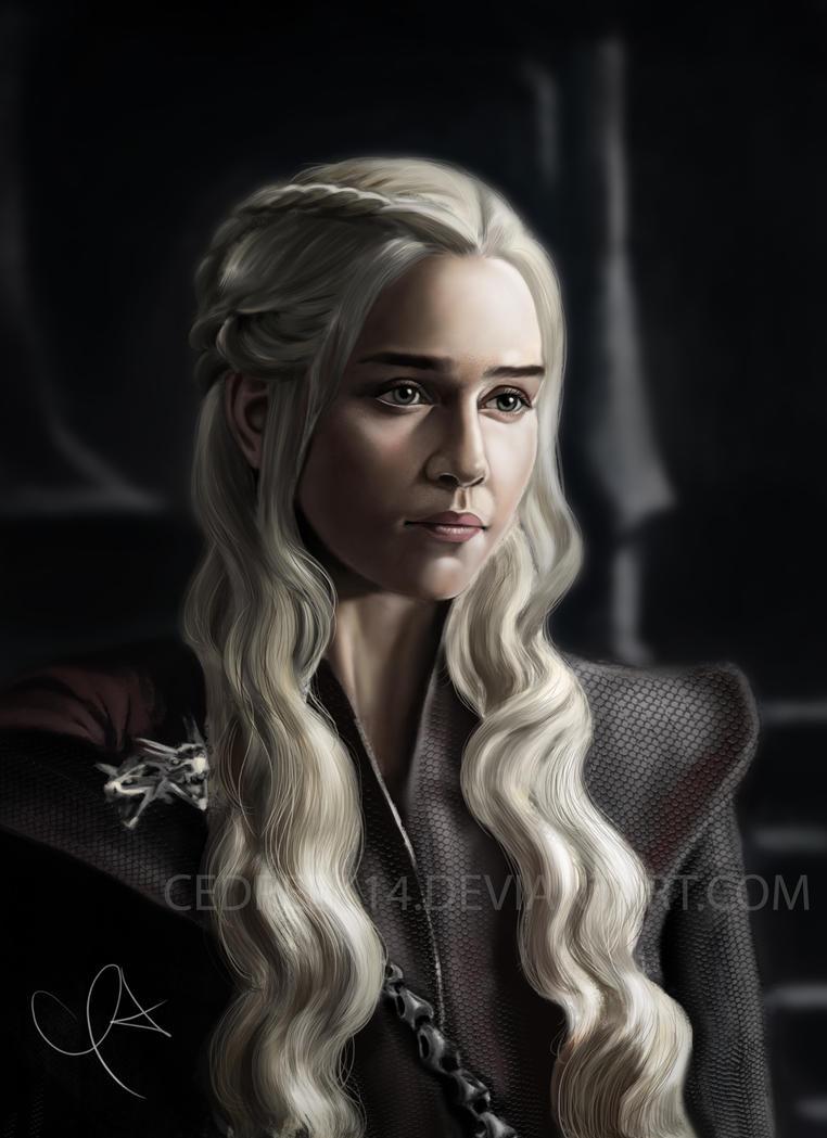 Daenerys Targaryen by cedreek14