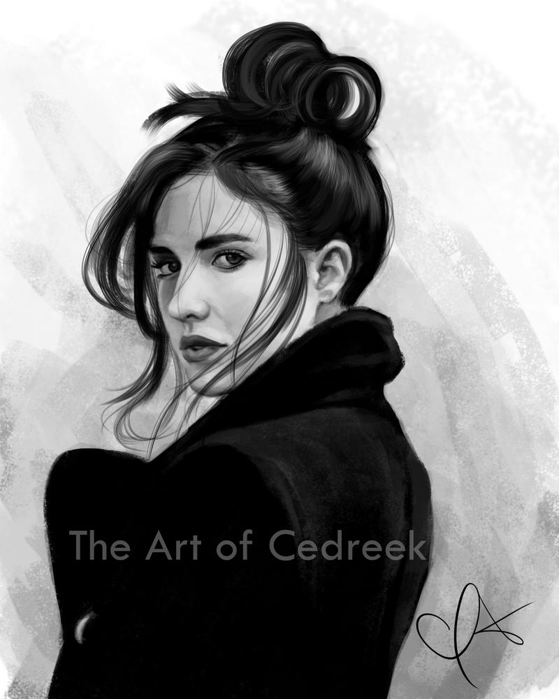 Girl Study by cedreek14