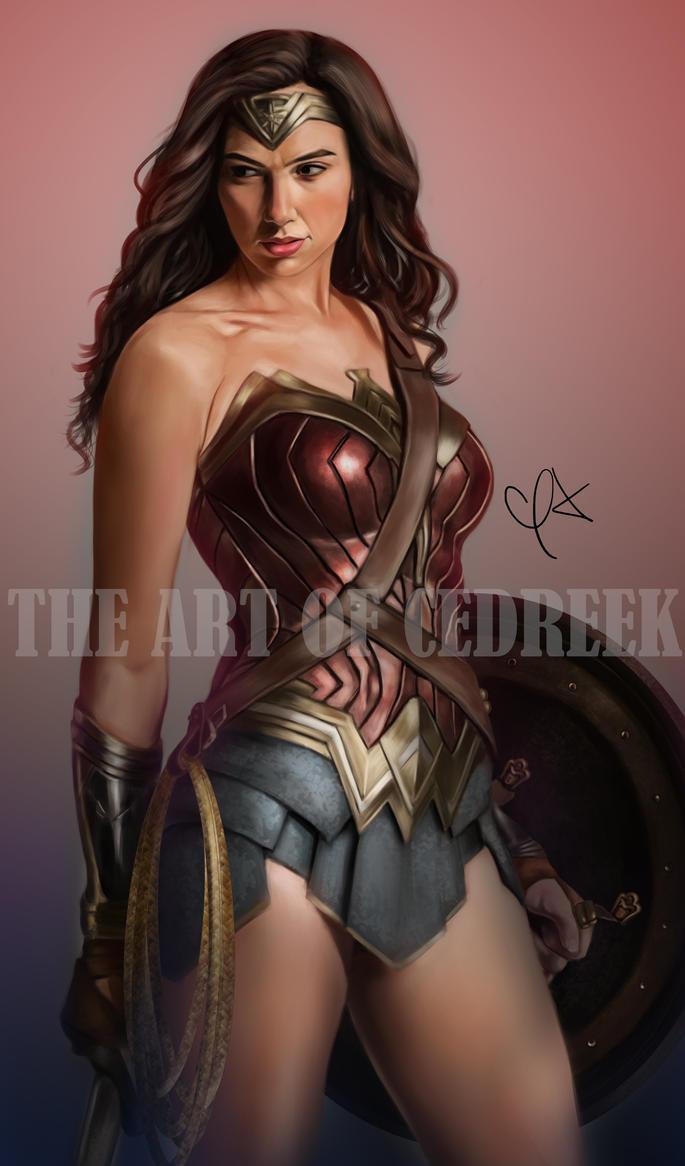 Wonder Woman by cedreek14