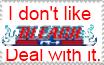Anti-Bleach stamp