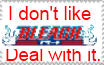 Anti-Bleach stamp by Commoner205