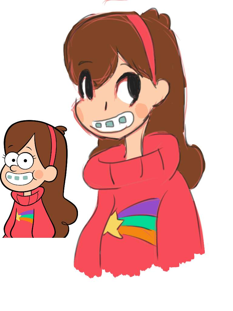 Mabel Pines Speed Redraw by Godzillah12