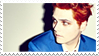 Gerard Way Hesitant Alien Stamp by TECHNlCOLOURED
