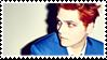 Gerard Way Hesitant Alien Stamp by TECHNlCOLOURED