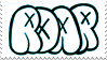 Roar (Band) Stamp by TECHNlCOLOURED