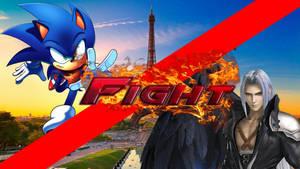 Sonic The Hedgehog vs Sephiroth