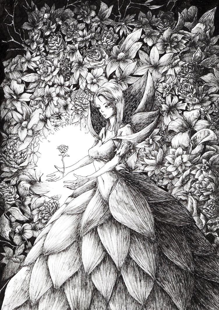 Luminous Bloom by yunhakim