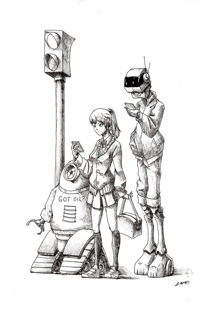 Urban Sketch by yunhakim