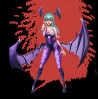 Morrigan Aensland by yunhakim