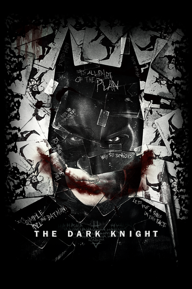 Batman The Dark Knight IPhone 4s Wallpaper By Dipdis86