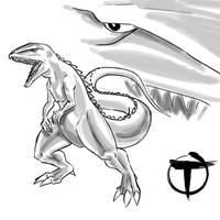 Gorosaurus by pyrasterran