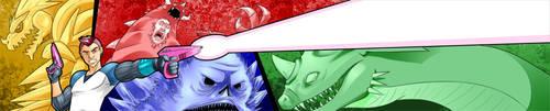 Kaiju KIller Banner by pyrasterran