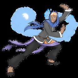 Sanari - The Half-Djinn Maiden by pyrasterran