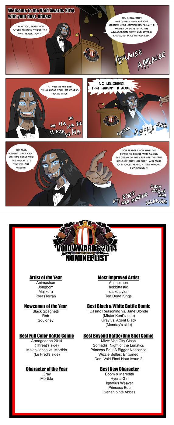 Void Awards 2014 by pyrasterran