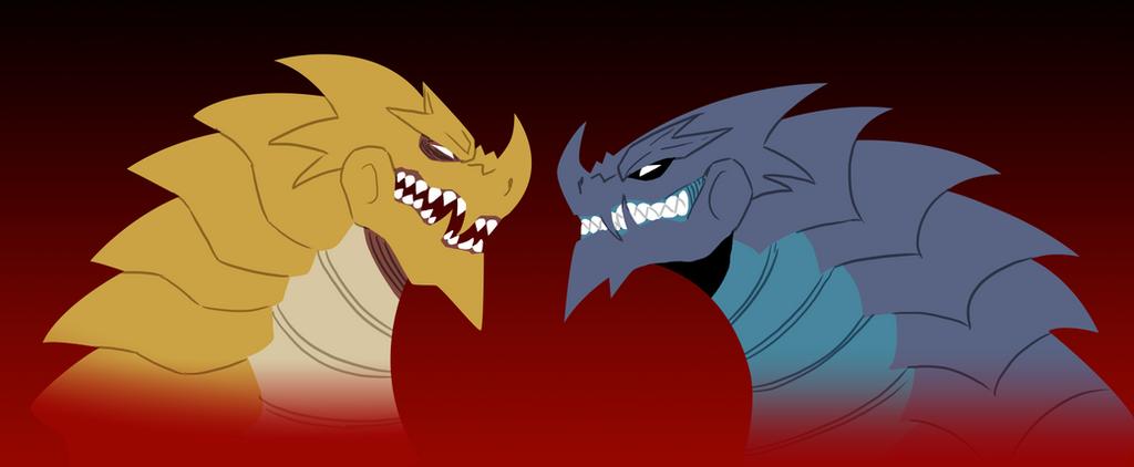 Gigara vs Capgras by pyrasterran