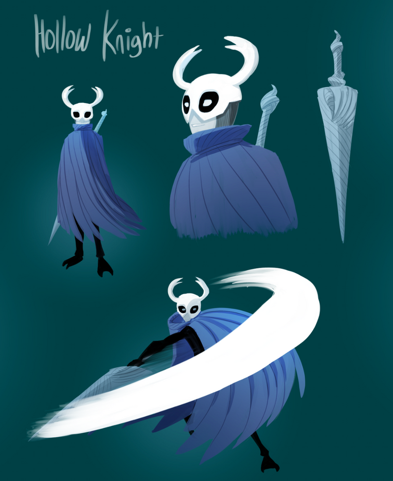 Hollow Knight fan-art by pyrasterran