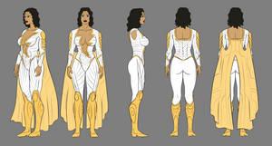 Thunder Woman Character Sheet Segment 01