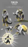 Kaiju Adoptables 03 Zonisha [SOLD] by pyrasterran