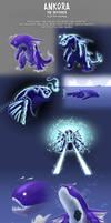 Kaiju Adoptables 02 Ankora [SOLD] by pyrasterran