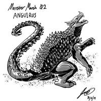 Kaiju Monster March 02 - Anguirus by pyrasterran
