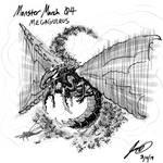 Kaiju Monster March 04 - Megaguirus