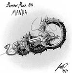 Kaiju Monster March 06 - Manda