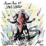 Kaiju Monster March 07 - Space Godzilla