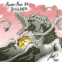Kaiju Monster March 08 - Biollante by pyrasterran